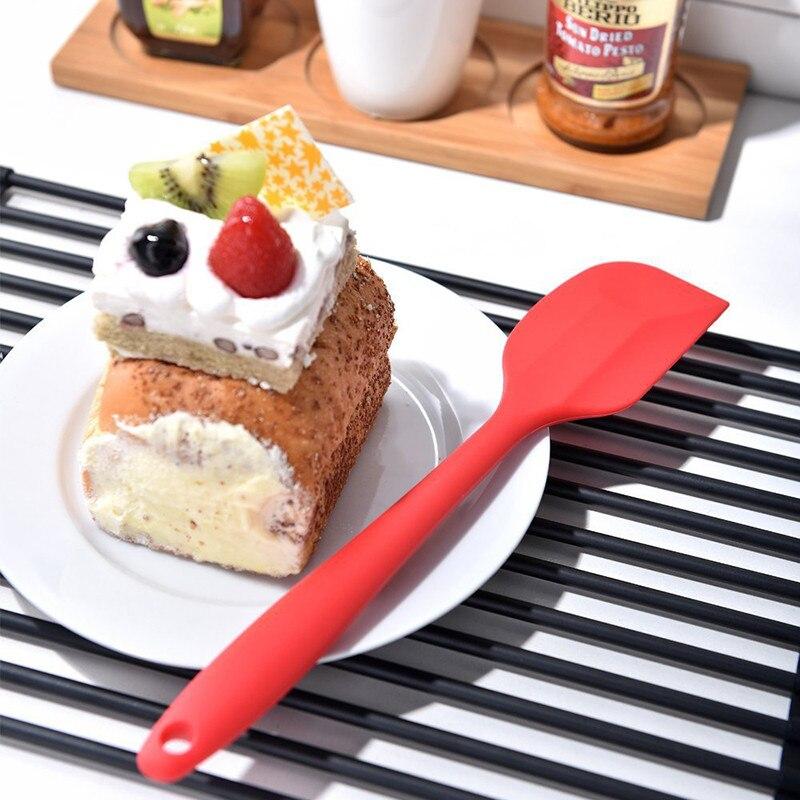 1PC Silikon Creme Butter Kuchen Spatel Mischen Teig Schaber Pinsel Butter Mixer Kuchen Pinsel Bäckerei Werkzeug Kichen Zubehör