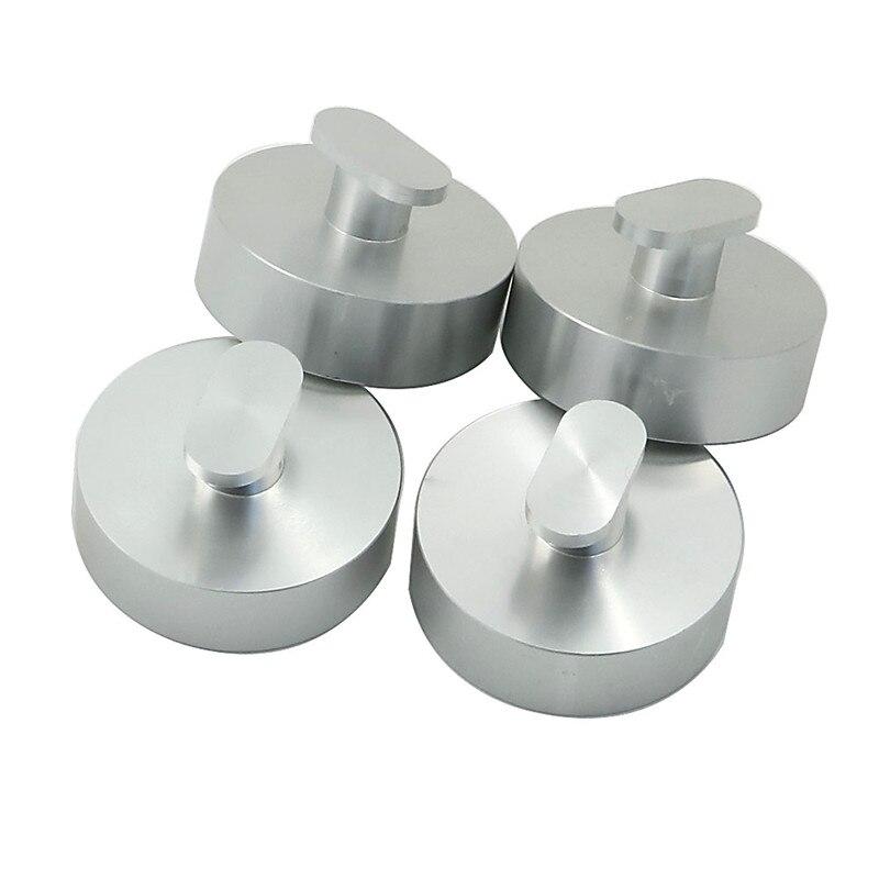 4 Uds CNC Billet aluminio superior elevación Pad Puck herramienta de reparación para C7 Corvette C7 Stingray / Z51 / Z06