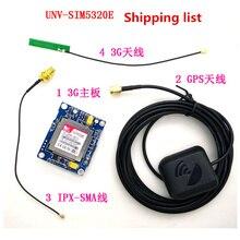 Livraison rapide gratuite Module 3G 2 pièces SIM5320E carte de développement de Module GSM GPRS GPS Message données 3G réseau pour Arduino 5V 3.3V SCM MCU