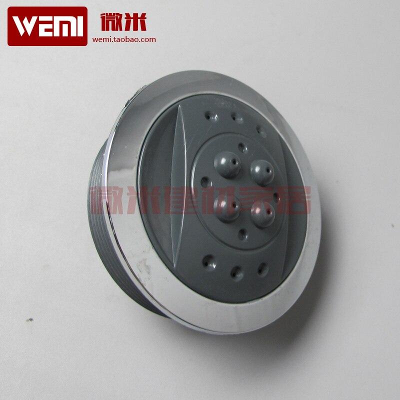 Boquilla de masaje para cabina de ducha boquilla ultralarga de vapor para ducha 7cm