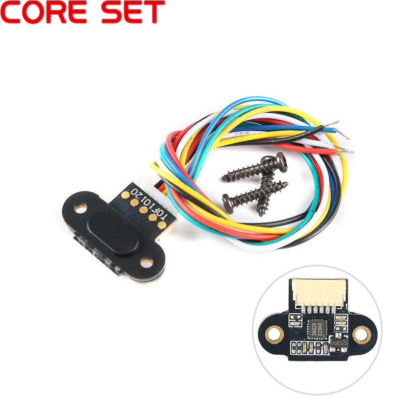 TOF10120 лазерный датчик дальности модуль 10-180 см датчик расстояния RS232 интерфейс UART I2C IIC выход 3-5 в для Arduino с кабелем