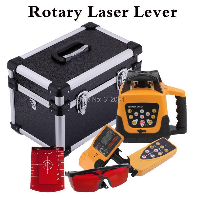 500 м автоматический лазерный уровень с автоматическим вращением красный лазерный уровень красный луч Вращающийся лазер с дистанционным уп...