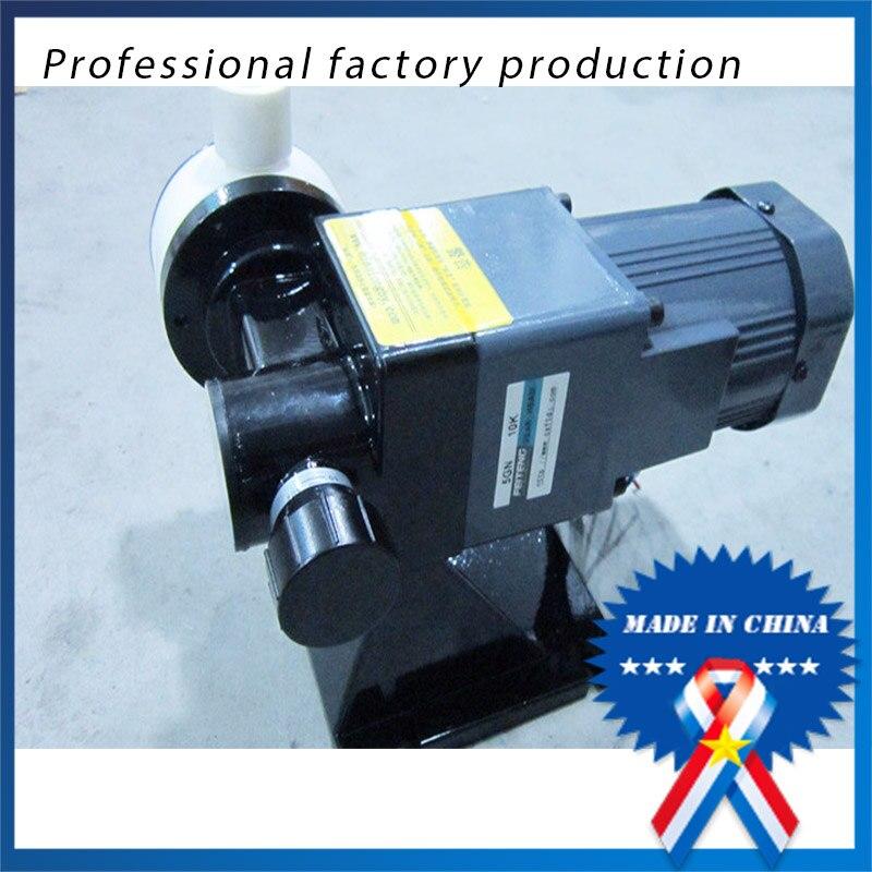 무료 배송 JGX-60/1.0 60l ptfe 내산성 도징 펌프 다이어프램 미터링 펌프 하수 처리 용 마이크로 미터링 펌프