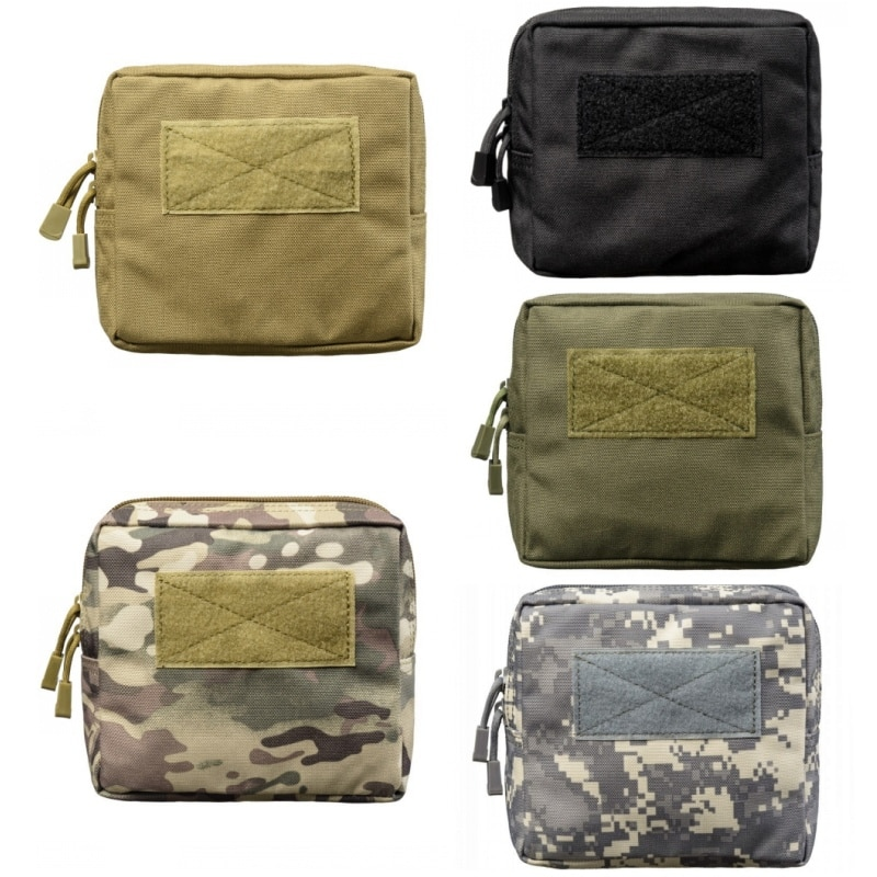 CQC Utility Mini Tactical Molle Waist Pouch Belt Military Army Accessories Bag Camping Hiking Running Hunting EDC Pouches military molle admin pouch tactical multi medical kit bag utility tool belt edc pouch for camping hiking hunting 2018