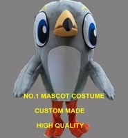 cute little grey woodpecker mascot costume adult size cartoon woodpecker bird theme anime cosplay costumes carnival fancy 2625