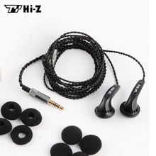 Draagbare TY Hi-Z 150ohm In ear Oortelefoon HP150 HiFi Super Bass Platte Kop Oordopjes Pk Monnik Headsets voor alle Smartphones