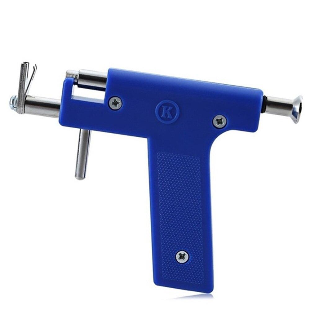 Earhole Ouvido Arma Ferramenta Buraco 98 Pares Femininos Em Aço Inoxidável Caso Kit Caneta Marcador Conveniente Orelha Criativo Quebra-Pistola