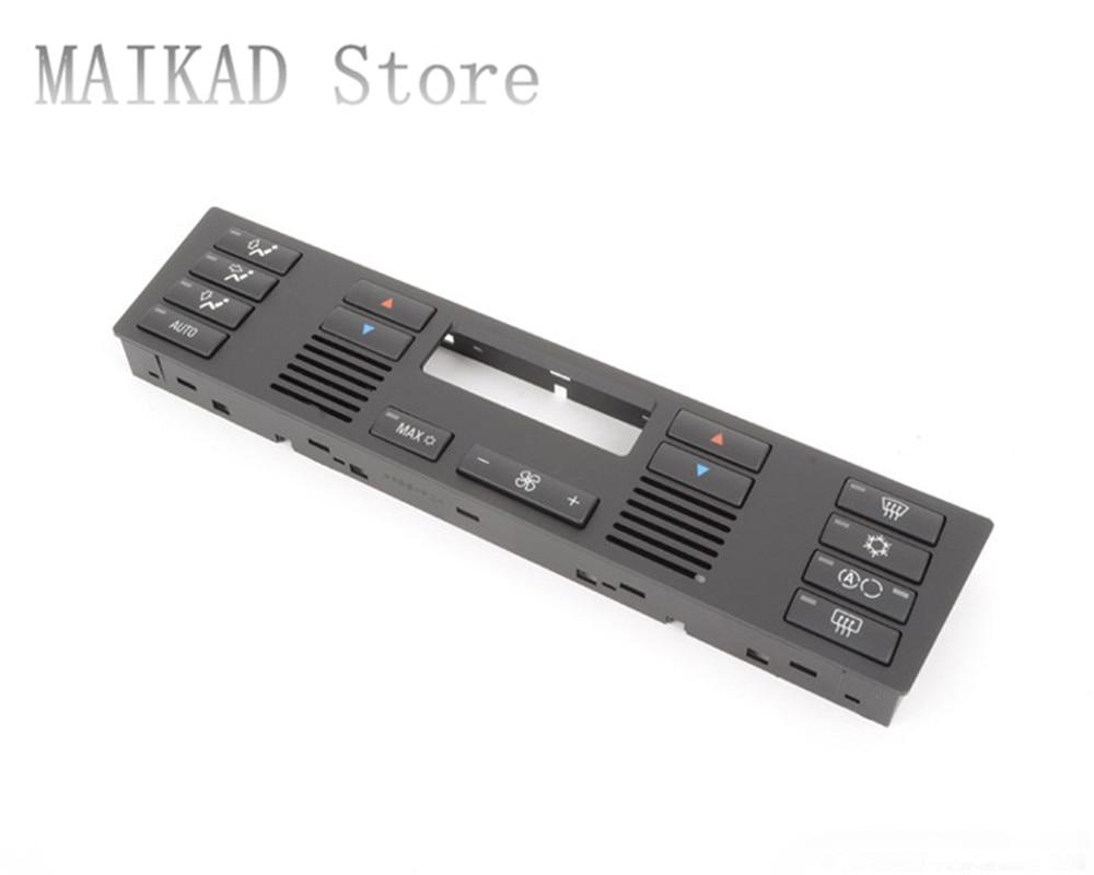 HVAC климат-контроль шапки климат-контроль Aircon кнопочный переключатель набор для BMW E39 520i 523Li 525i 528i 530i 535i 540iM5 64116915812