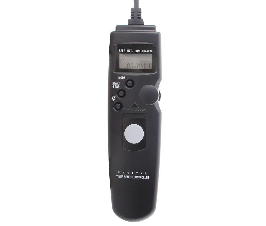 Meke Meike 80n3 S1 LCD cámara digital temporizador Control remoto Lanzamiento de obturador para Sony A100 A300 A350 a500 a550 a580 a450 A700 a900