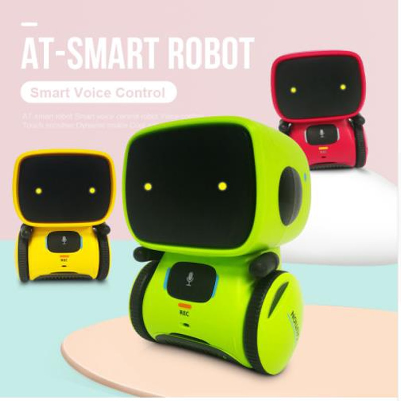 2019 New Type Interactive Robot Cute Toy Smart Robotic Robots for Kids Dance Voice Command Touch Con