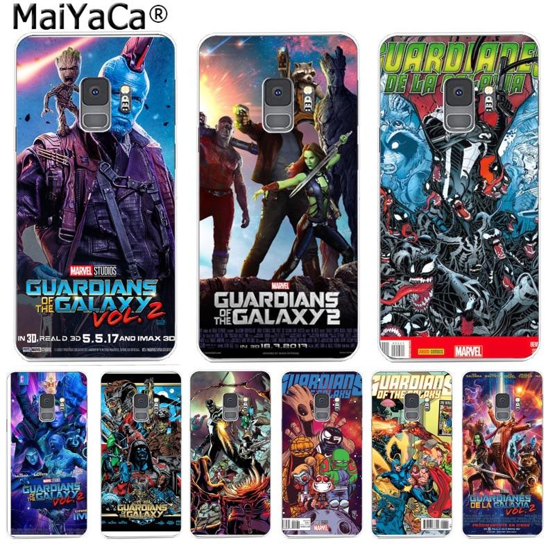 ¡MaiYaCa Guardianes de la Galaxia! 23 Ultra delgada suave TPU de la bolsa del teléfono para Samsung S9 S9 más S5 S6S6edge S6plus S7 S7edge S8 S8plus