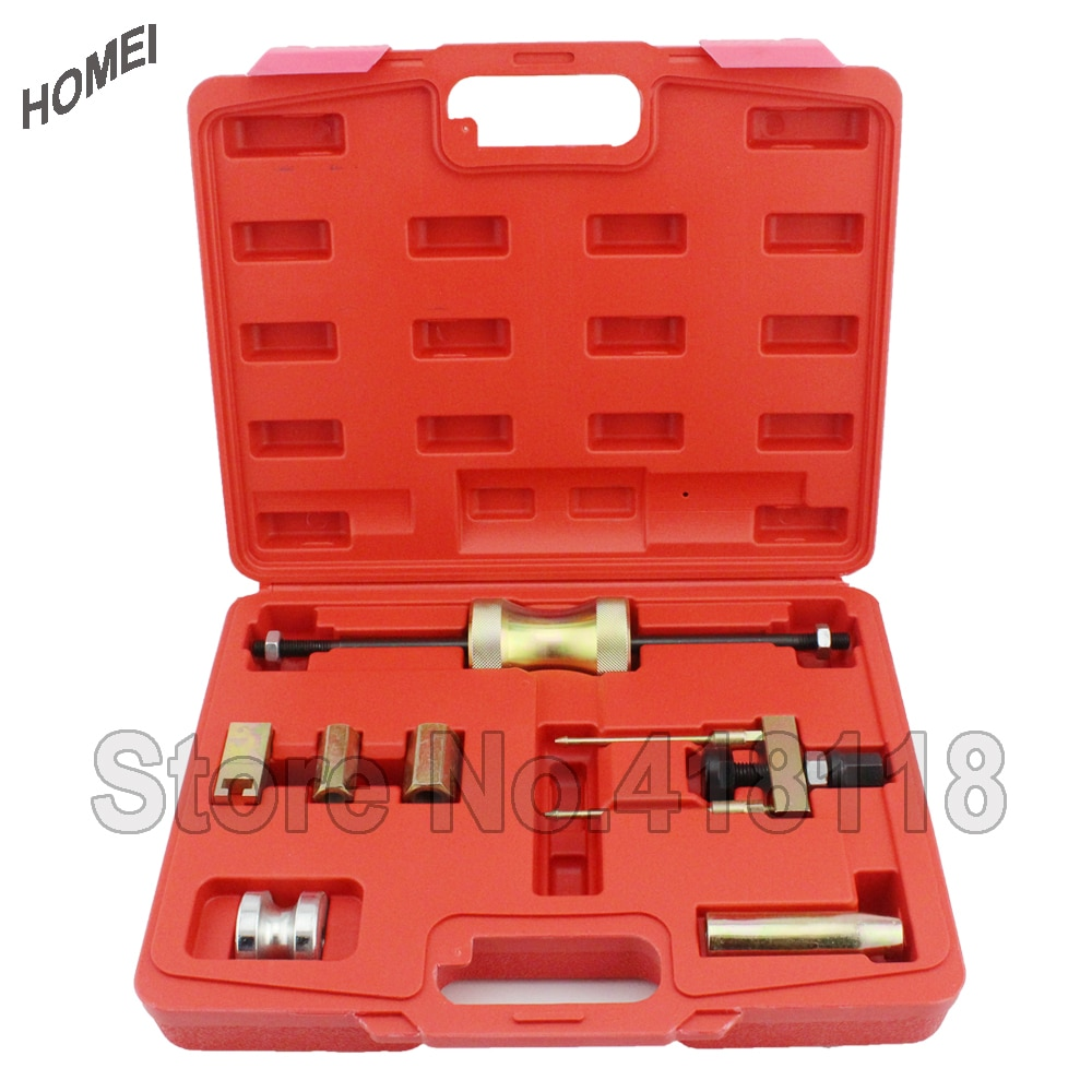 7pc Professional Injector Puller Set Diesel Engine Garage Tool Set