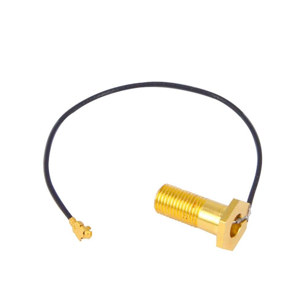 IPX to RP-SMA female с антенной 1,13 мм WiFi Pigtail для изменения DJI Mavic Pro Remote, чтобы принять любой стандарт 2,4 ГГц SMA style