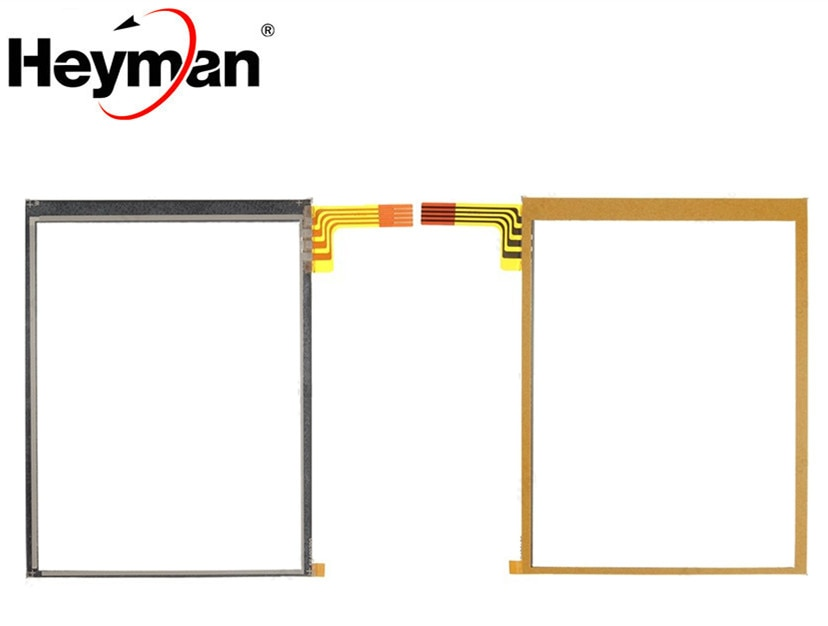 Digitalizador de pantalla táctil Heyman con reemplazo adhesivo para Motorola Symbol MC50 MC70 MC7090 MC5040