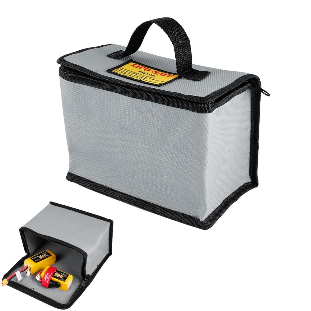 Bolsa de seguridad a prueba de fuego para batería RC LiPo, bolsa de carga segura 20x170x28mm para carga de batería RC