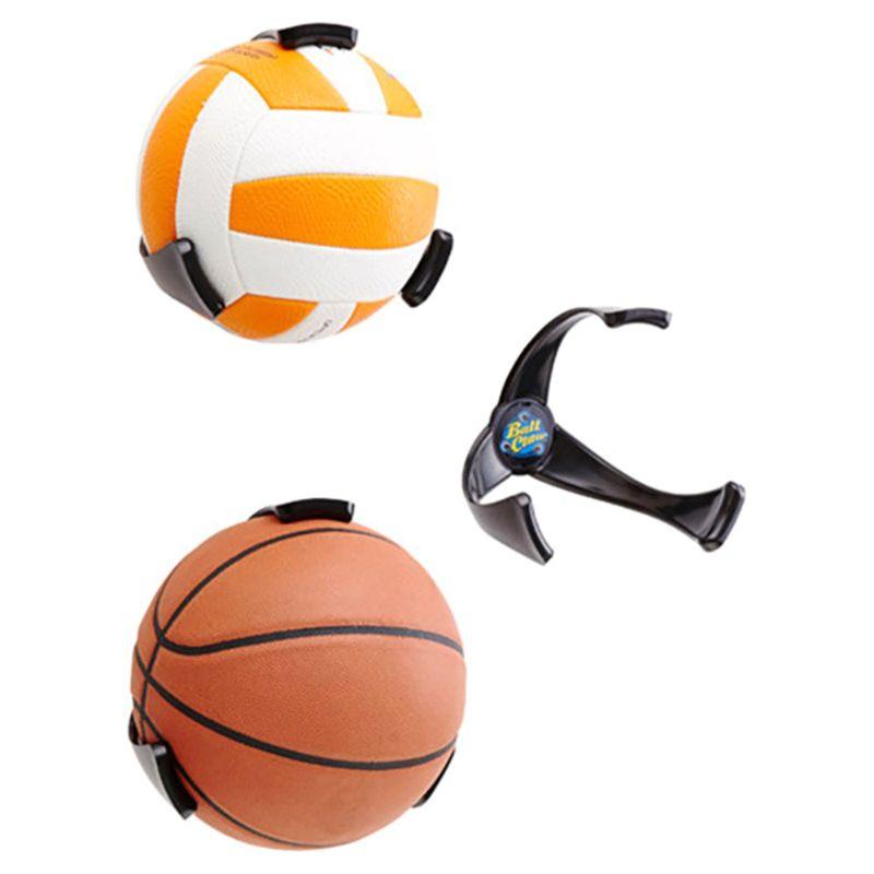 1 pieza de soporte para balón, soporte para balón de baloncesto, soporte de plástico, soporte para baloncesto, fútbol, Rugby, suministros de pie, herramientas de agarre