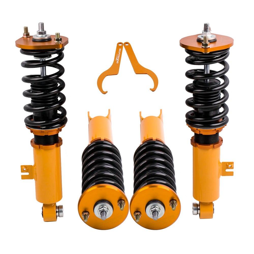 Suspensión de choque Coilovers de altura ajustable para Nissan Z32 300ZX resortes amortiguadores