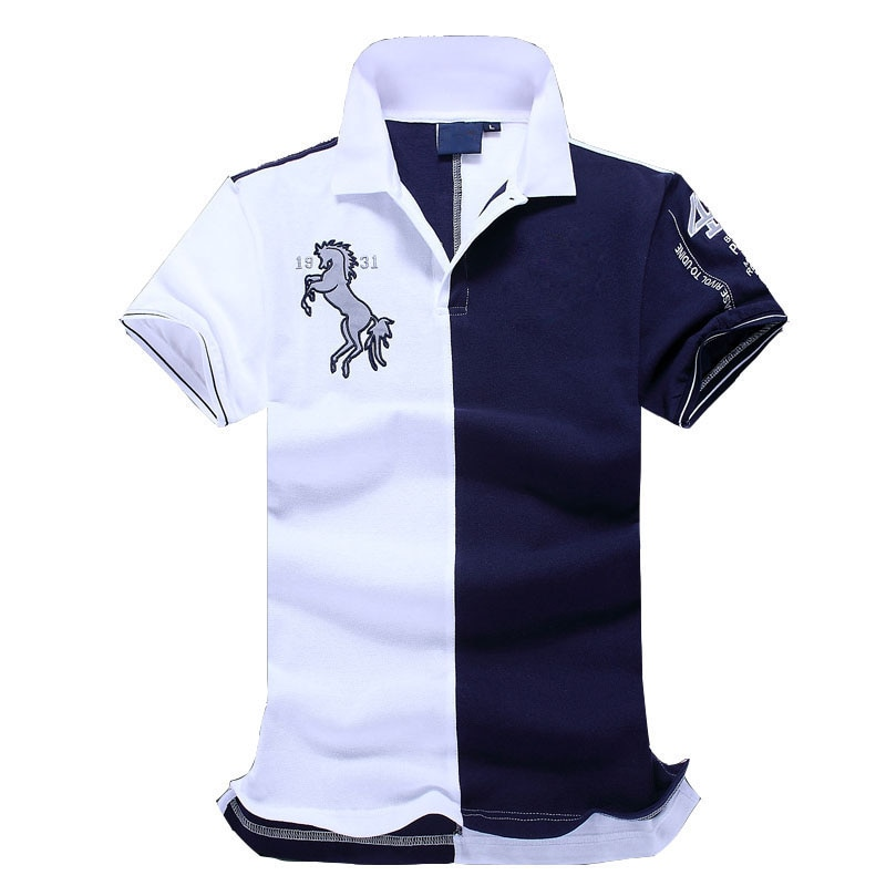 Nuevo el más bueno calidad bordado hombres marca-ropa polo camisas marca moda hombres polo camisa ropa camisa polo camisa