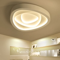Rose shape ceiling lamp Creative art master bedroom lamp warm romantic modern minimalist atmosphere living room ZA FG110