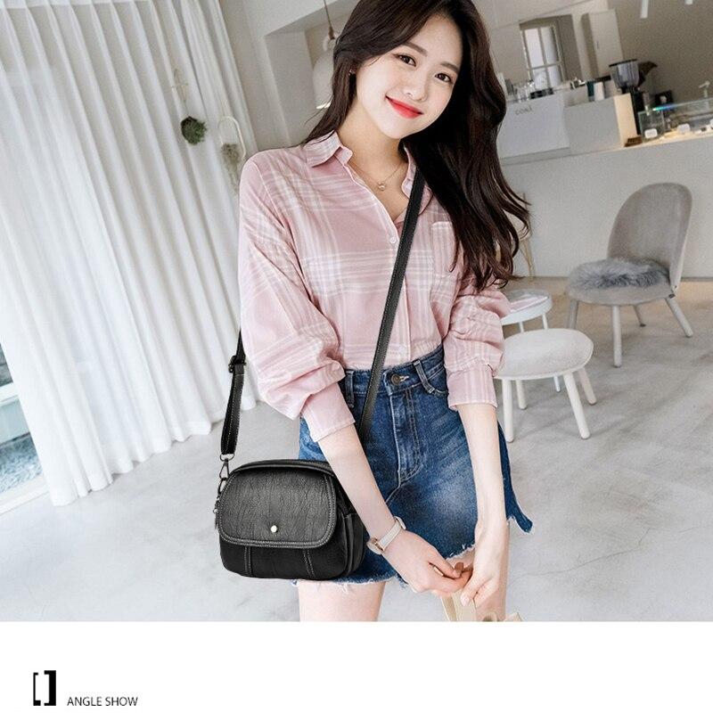 Maoyebeila bolsas para las mujeres 2019 nuevo hombro Diagonal bolso Casual cuadrado pequeño mensajero bolsa de 9426-170