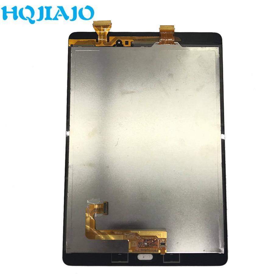 Tableta LCDs para Samsung Galaxy Tab A 9,7 SM-P550 SM-P555 P550 P555 LCD pantalla táctil digitalizador marco de montaje P555 p550