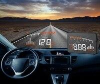 XYCING X5 3 inch HUD Car Head Up Display OBD2 Vehicle Driving Speedometer Car Windscreen Projector KMH MPH Display Speed Alarm
