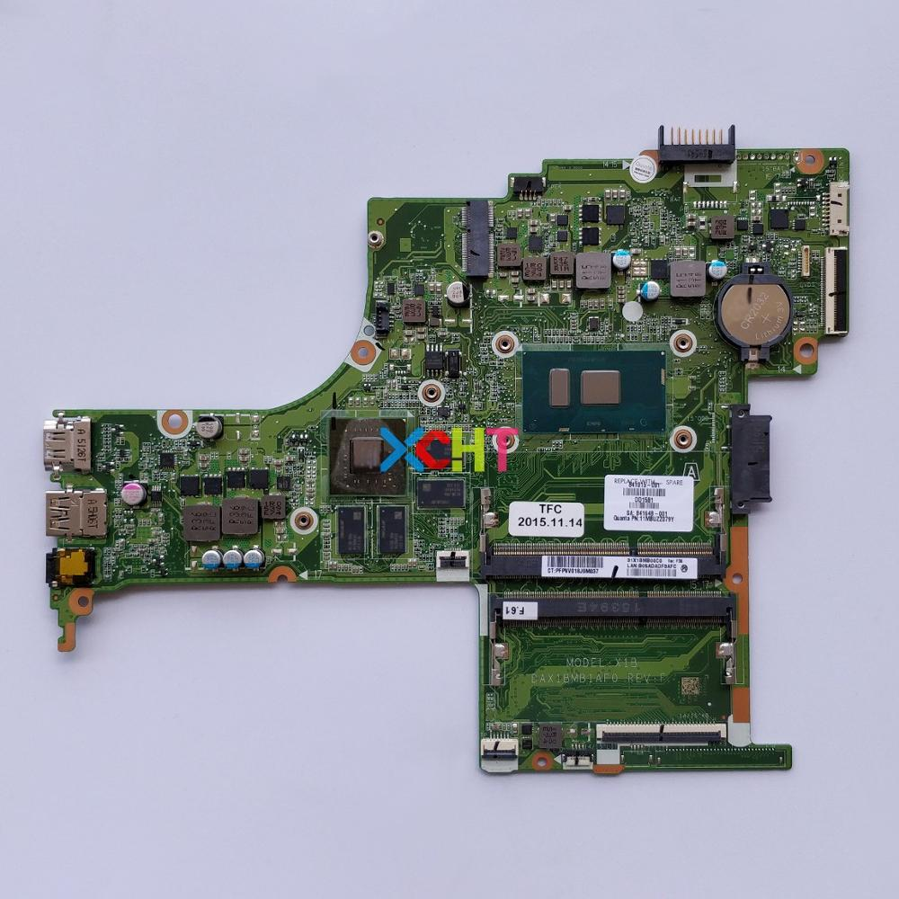 for HP NoteBook 14-AB Series PC 841015-001 841015-601 DAX1BMB1AF0 w i7-6500U CPU N16S-GT-S-A2 GPU Laptop Motherboard Mainboard