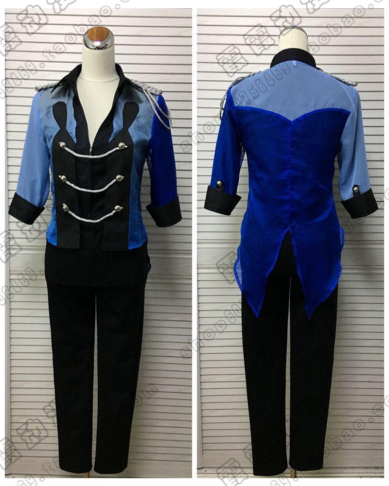 ¡Nuevo YURI! On ICE Katsuki Cosplay disfraz azul oscuro uniforme traje para adultos Carnaval/disfraces de Halloween para mujeres/hombres
