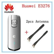 Unlocked Huawei E3276S-920 E3276 4G LTE Modem 150Mbps WCDMA TDD Wireless USB Dongle plus (2pcs 4g antenna)