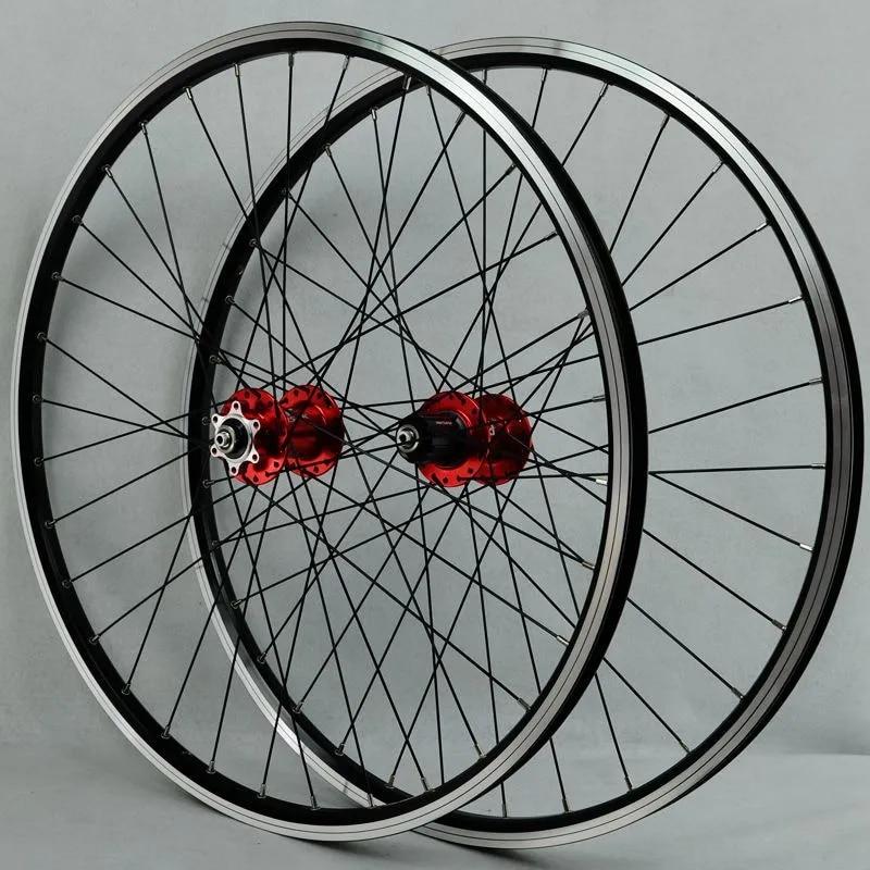 PASAK MTB אופני הרים 26 אינץ גלגלים אטום נושאות דיסק/V בלם זוג גלגלי 7-11Speed Casette אופניים רים
