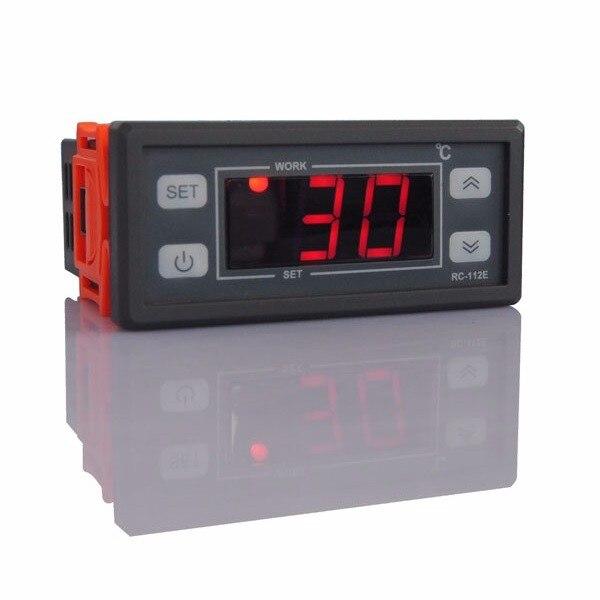 220 فولت/110 فولت 10A شاشة الكريستال السائل ترموستات رقمي منظم متحكم في درجة الحرارة ل خزانات مياه الفريزر المنزلية الثلاجة