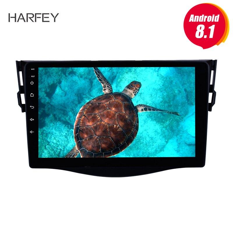 "Harfey Android 8.1 9"" for 2007-2013 Toyota RAV4 Radio HD Touchscreen GPS Navigation SWC WIFI USB Bluetooth support DVR"