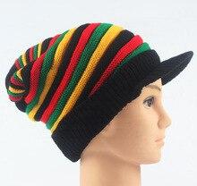 Bonnet multicolore Bob Marley jamaïque Rasta bonnet bonnet chaud hiver