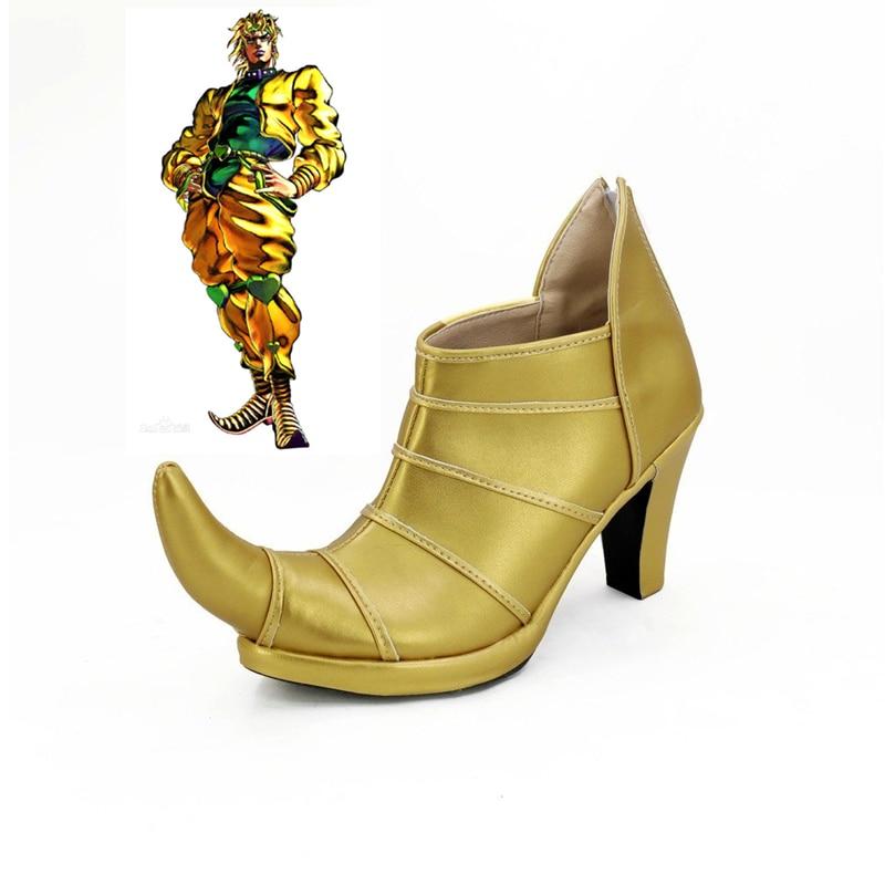 أنيمي ديو براندو تأثيري أحذية عالية الكعب مخصص