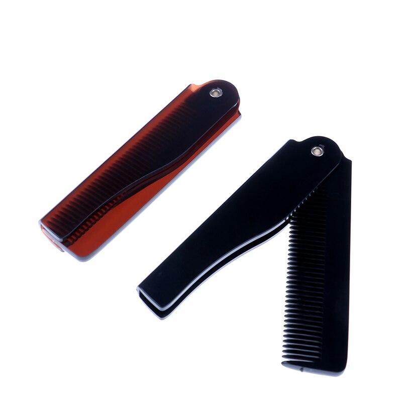 Falten Kamm Tasche Magie Haar Kamm Bart Haar Clip Männer Frauen Mode Haar Styling Werkzeug Haarpflege Schnurrbart Kamm 17.5*2cm