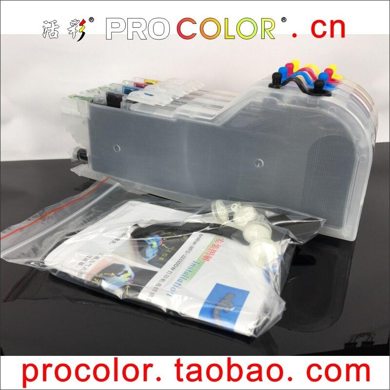 Recarga de tinta cartucho LC3213XL LC3211 LC3213 hermano MFC-J890DW MFCJ890DW MFCJ895DW DCPJ772DW DCPJ774DW DCP J772DW MFC J895DW
