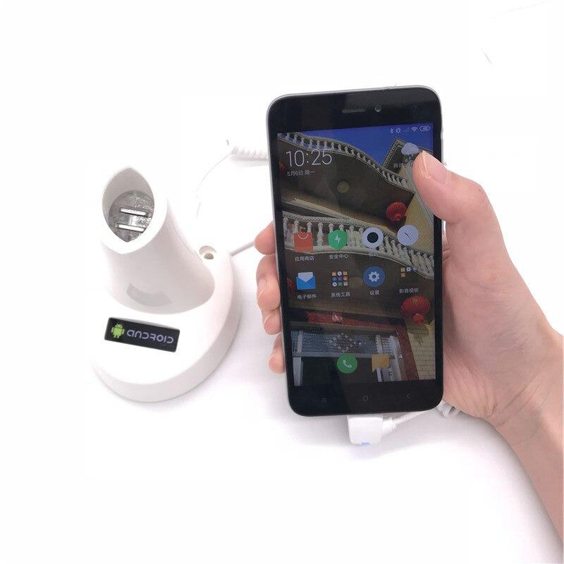 (30 set/lot) mobile phone retail shop alarm charging security anti theft remote control holder enlarge