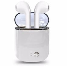New Headset i7 TWS twins wireless earphones headphones with charging box