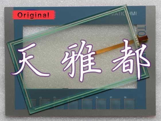 Digitador Da Tela de toque para 6AV6 642-0DC01-1AX1 OP177B OP177B com Teclado de Membrana Interruptor Do Painel de Toque para 6A