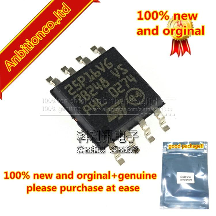 5pcs 100% new and orginal M25P16-VMF6TP 25P16V6P SOP16 16 Mbit, Low Voltage, Serial Flash Memory in stock