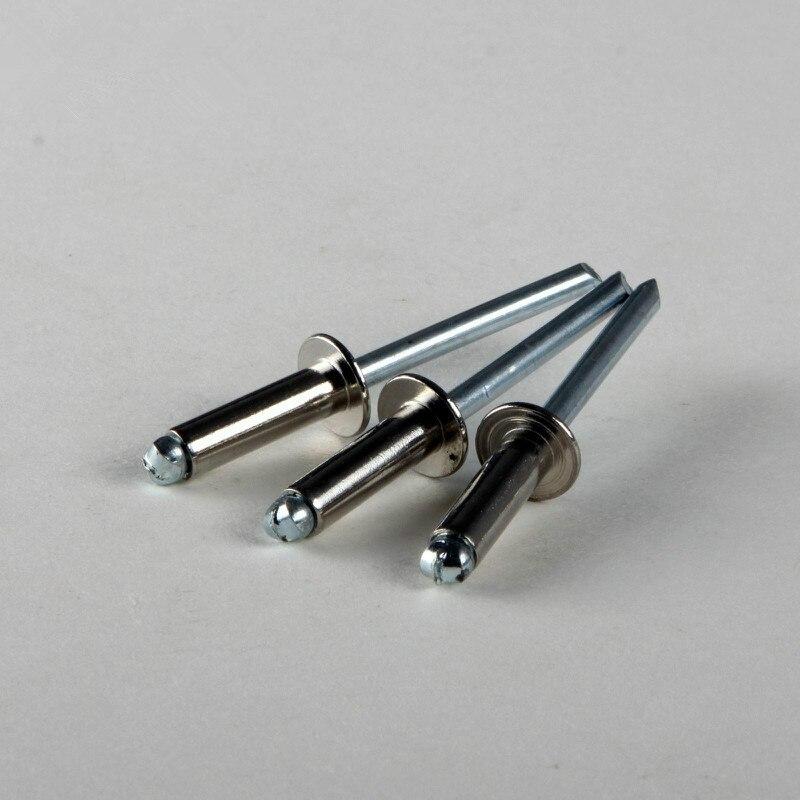 Remaches ciegos de acero inoxidable 25 uds/remaches Pop M3.2 * 6,4