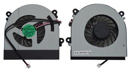Вентилятор охлаждения для ноутбука SSEA, новый оригинальный вентилятор охлаждения процессора для Clevo W150 W150er W350 W350ETQ W370, вентилятор AB7905HX-DE3 6-31-W370S-101 6-23-AW15E-011