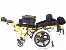 Принадлежности для терапевтической терапии, складное детское кресло-каталка с мозговым параличом, ручная коляска