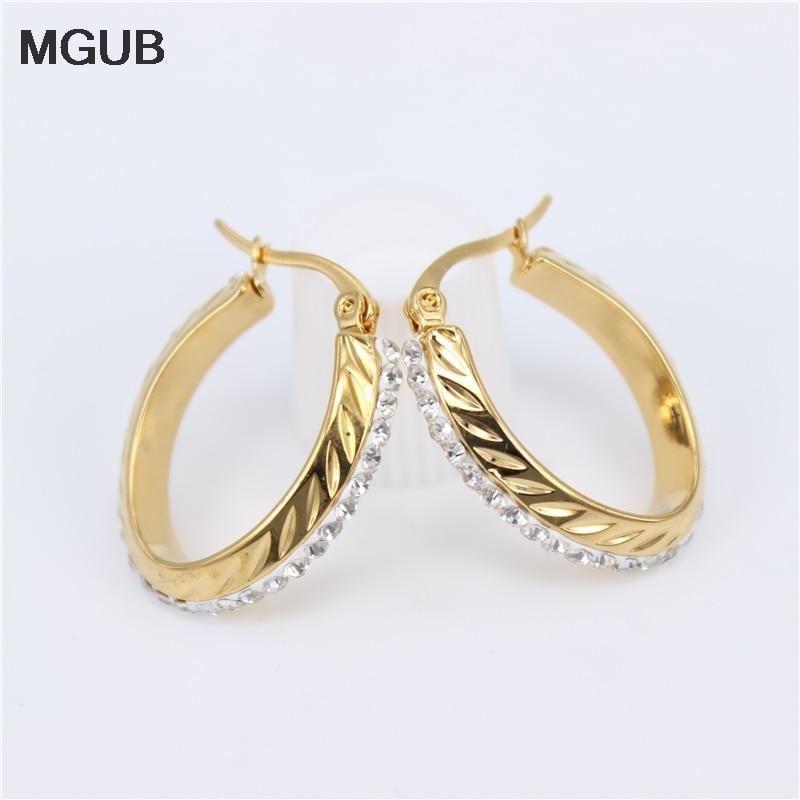Высококачественные серьги-кольца с кристаллами 25 мм, красивые и простые в носке, Европейская и американская мода, Офисная LH674