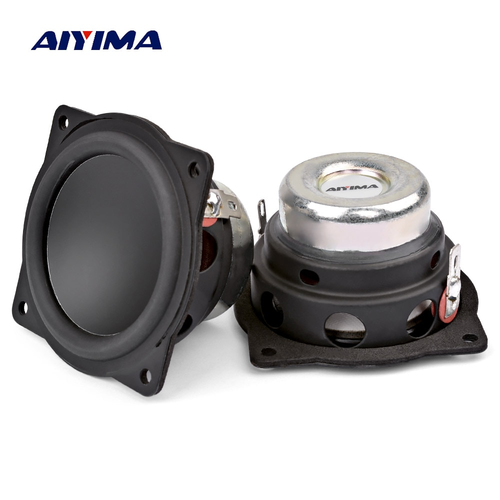 AIYIMA 2Pcs 2 Inch Mini Audio Portable Speakers 4Ohm 20W Full Range Speaker DIY Home Theater Bluetooth-compatible Loudspeaker