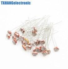 20PCS Fotowiderstand LDR CDS 5mm Licht-Dependent Resistor Sensor GL5516