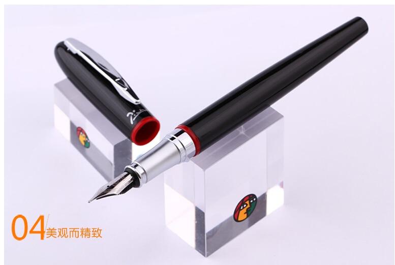 Free Shipping Pimio Picasso Fountain Pen PS-907 Iridium Fountain Pen Calligraphy Fountain Student Pen 0.5mm Wholesales