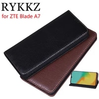 rykkz luxury leather flip cover for zte blade a7 6 088 mobile stand case for zte blade a7 leather phone case cover