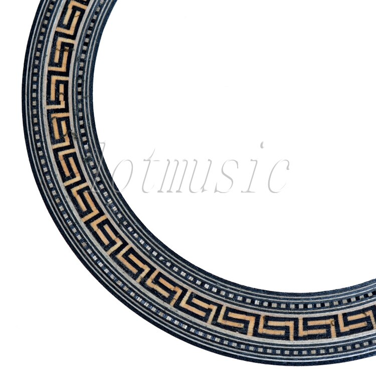 6PCS Acoustic Soundhole Rosette Inlay Basswood Guitar Body Project Luthier Supply enlarge