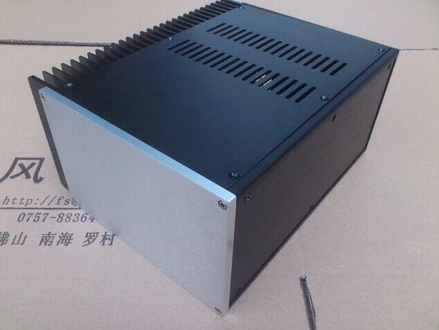 هيكل مكبر كهربائي/علبة ألومنيوم قوة أمبير قذيفة/لتقوم بها بنفسك صوت المنزل أمبير الضميمة